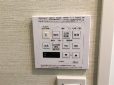 クレール三田 給湯乾燥機スイッチ