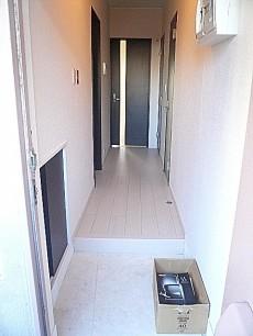 柿の木坂パレス 玄関・廊下です。