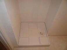 藤和用賀コープ 洗濯機置き場です。