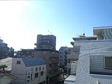 藤和用賀コープ 4階からの眺望です。