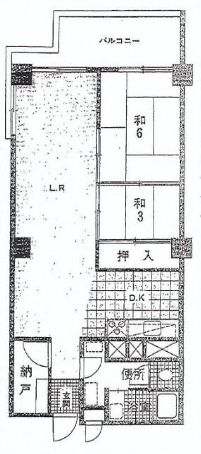 ライオンズマンション南平台 間取図