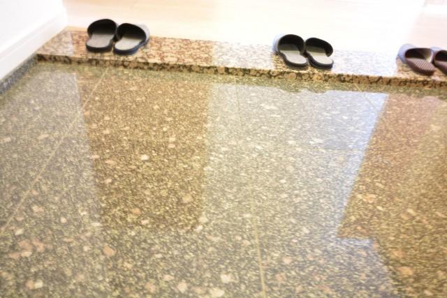 幡ヶ谷ハイムグランシス 玄関石床