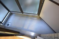 約6.0畳の洋室側のバルコニー