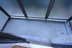 約5.6畳の洋室側のバルコニー