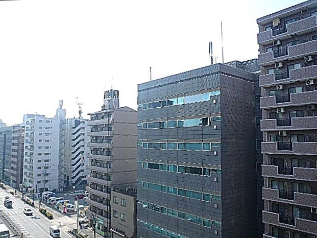 ニックハイム中目黒 8階からの眺望