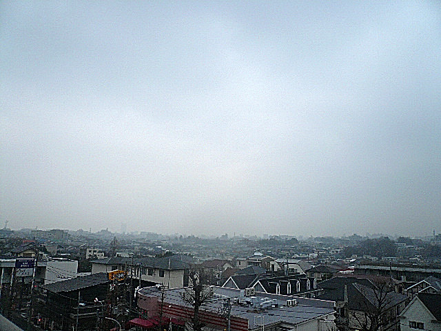 6階からの眺望
