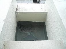 玉川サンケイハウス バルコニー花壇
