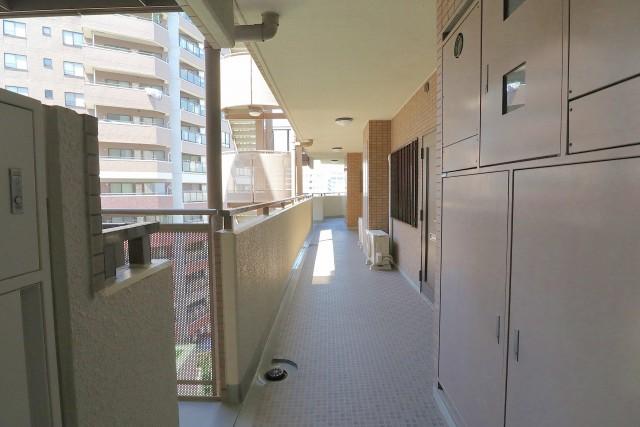 朝日シティパリオ中目黒 外廊下