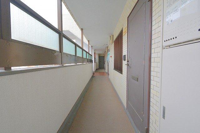ライオンズマンション中野第 外廊下