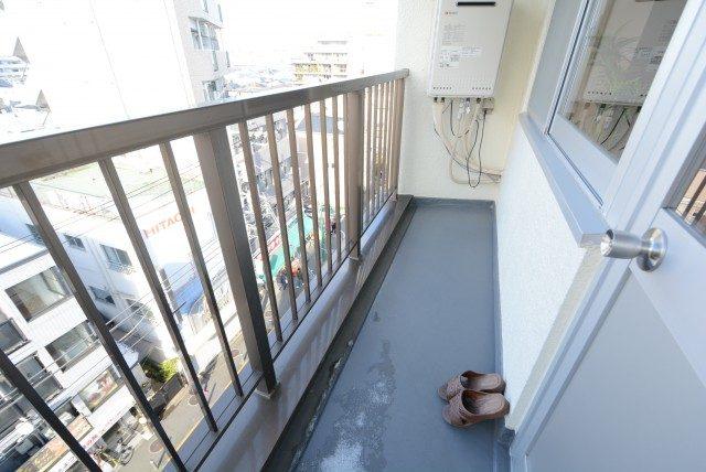 上野毛マンション バルコニー