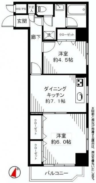 ハイネス文京本駒込 間取り403