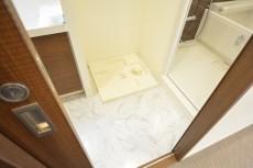 高輪パークホームズ 洗面室
