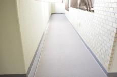 高輪パークホームズ 共用廊下