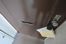 成城エコーハイツ 玄関扉