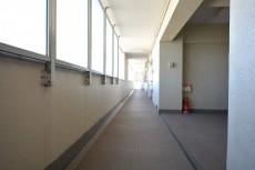 成城エコーハイツ 共用廊下
