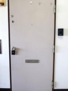 等々力ビューハイツ 玄関扉