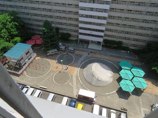 大森駅前住宅 敷地内公園