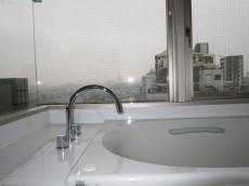 ガラス貼りのバスルーム 絶景です!
