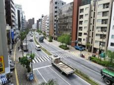 シャトレー渋谷 バルコニーからの眺望