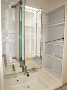 シャトレー渋谷 収納たっぷりの洗面化粧台