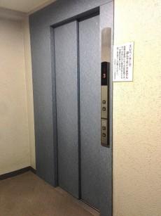 大森西サンハイツ エレベーターホール