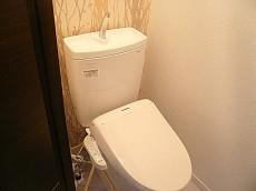 ビラ自由が丘 ウォシュレット付トイレ