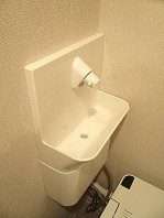 ウォシュレット付トイレ 手洗い付き
