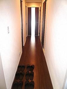 多摩川芙蓉ハイツ お部屋へ続く廊下