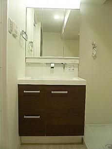 六本木ハイツ 洗面化粧台801