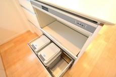 ファミール築地 キッチンゴミ箱