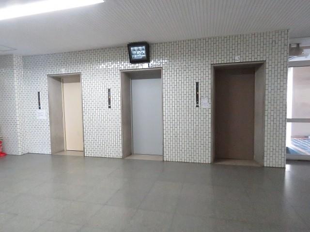 月島四丁目住宅 エレベーター
