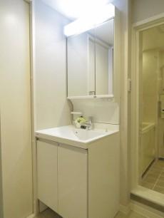 月島四丁目住宅 洗面化粧台
