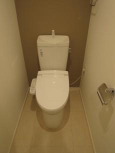 本郷壱岐坂ハイツ ウォシュレット付のトイレ