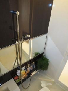 瀟洒な雰囲気のバスルーム