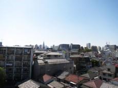 スカーラ四谷 バルコニーからの眺望