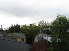 テラス目白 ドア前からの眺望