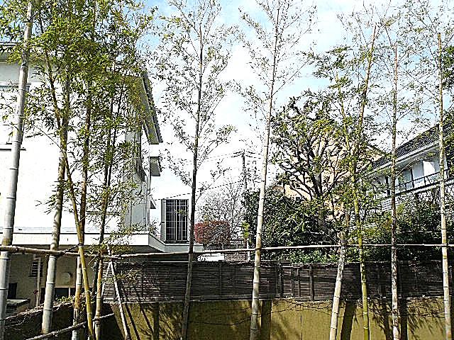 ホームズ緑が丘 1階からの眺望