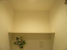 洗濯機置き場 吊戸棚