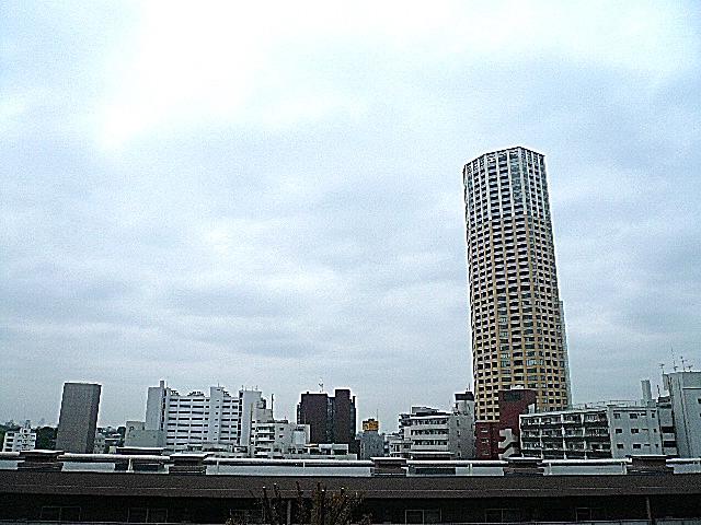 マンション第二恵比須苑 6階からの眺望