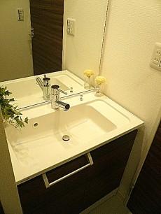恵比寿グリーンハイム 洗面化粧台