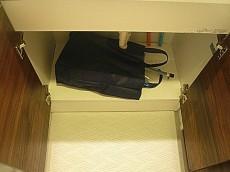 恵比寿グリーンハイム 洗面化粧台収納