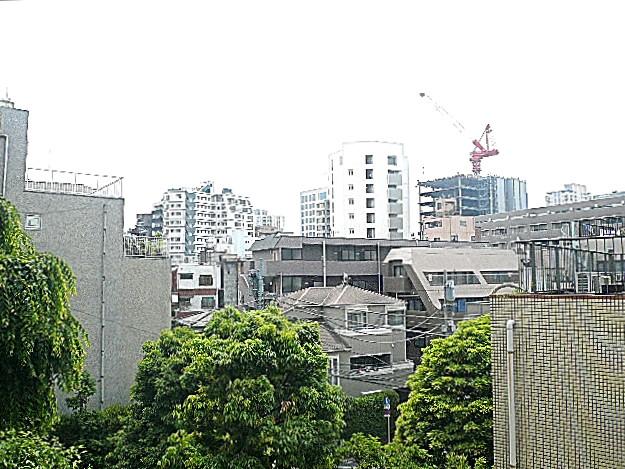 恵比寿グリーンハイム 4階からの眺望