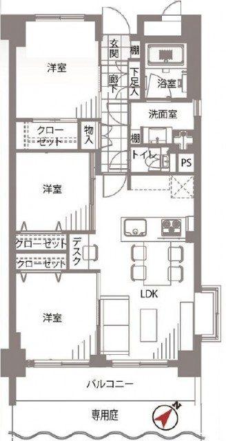サンヴェール世田谷経堂
