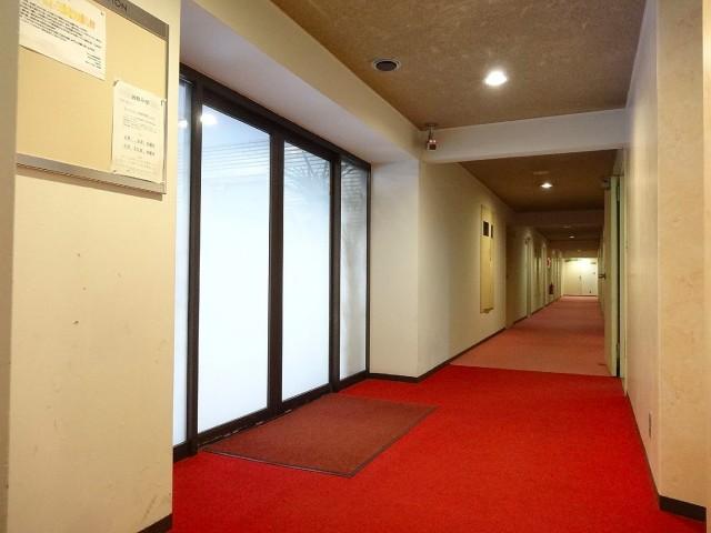 プライム赤坂 共用廊下