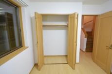 セボン世田谷桜 1階洋室クローゼット