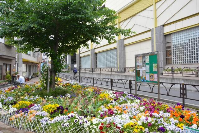 東高PAIR CITY 駅前花壇