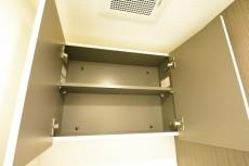 柿の木坂パレス トイレの吊戸棚