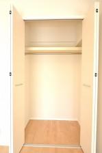 5.0帖ベッドルームの収納