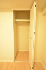 4.5帖のベッドルーム 収納