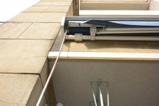 グランシティ上用賀ラ・アヴェニュー ハンドル操作で屋根ができます